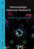 Immunologic Adjuvant Research