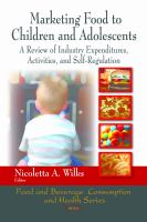 Marketing Food to Children and Adolescents