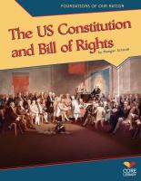 The US Constitution and Bill of Rights