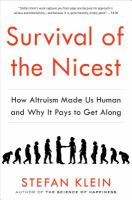 survival of the nicest book cover