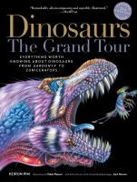Media Cover for Dinosaurs - The Grand Tour, Second Edition