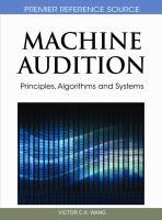 Machine Audition