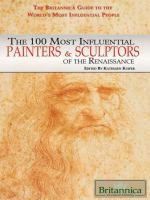 The 100 Most Influential Painters and Sculptors of the Renaissance