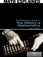 The Britannica Guide to The History of Mathematics
