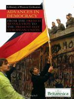 Advances in Democracy