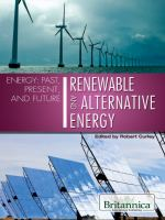 Renewable and Alternative Energy