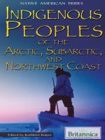 Indigenous Peoples of the Arctic, Subarctic, and Northwest Coast