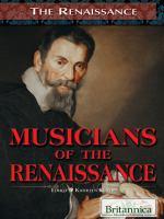 Musicians of the Renaissance
