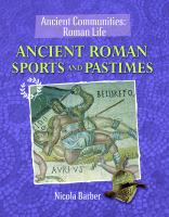 Ancient Roman Sports and Pastimes