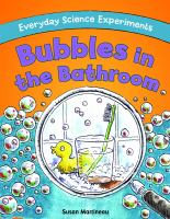 Bubbles in the Bathroom