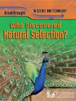Who Discovered Natural Selection?