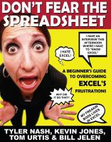Don't Fear the Spreadsheet