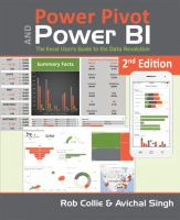 Power Pivot and Power BI