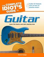 The Complete Idiot's Guide to Guitar