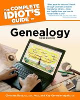 Image: The Complete Idiot's Guide to Genealogy