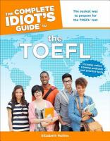 The Complete Idiot's Guide to the TOEFL