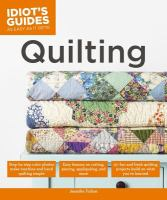 Idiot's Guides to Quilting