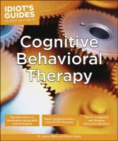 Idiot's Guides to Cognitive Behavioral Therapy