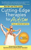 Cutting-edge Therapies For Autism, 2011-2012