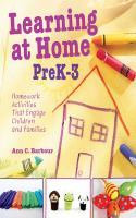 Learning at Home PreK-3