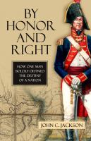 By Honor and Right