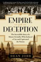 Cover of Empire of deception : the incredible story of a master
