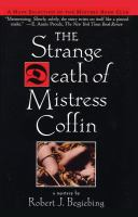 The Strange Death of Mistress Coffin