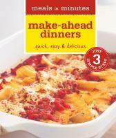 Make-ahead Dinners