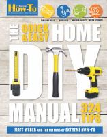 The Quick and Easy Home DIY Manual