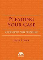 Pleading your Case