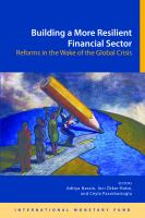 Building A More Resilient Financial Sector