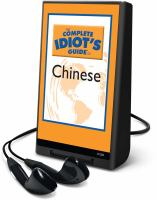 The Complete Idiot's Guide to Chinese