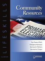 Community Resources Worktext
