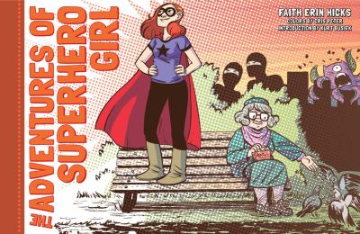The adventures of Superhero Girl cover