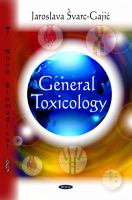 General Toxicology