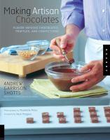 Making Artisan Chocolates
