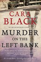 MURDER ON THE LEFT BANK RELEASE DATE 6/19/18