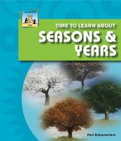 Time to Learn About Seasons and Years