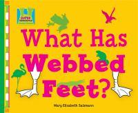 What Has Webbed Feet?