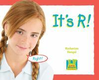 It's R!