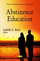 Abstinence Education