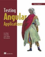 Testing Angular Applications