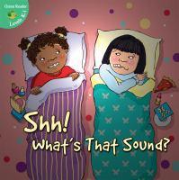 Shh! What's That Sound?