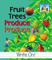 Fruit Trees Produce Produce