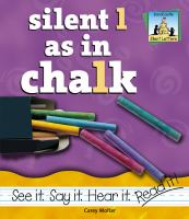 Silent L as in Chalk