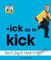 Ick as in Kick