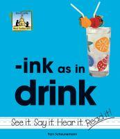 Ink as in Drink