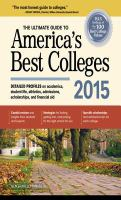 The Ultimate Guide to America's Best Colleges 2015