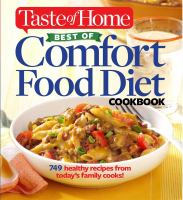 Best of Comfort Food Diet Cookbook