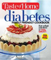 Diabetes Family Friendly Cookbook